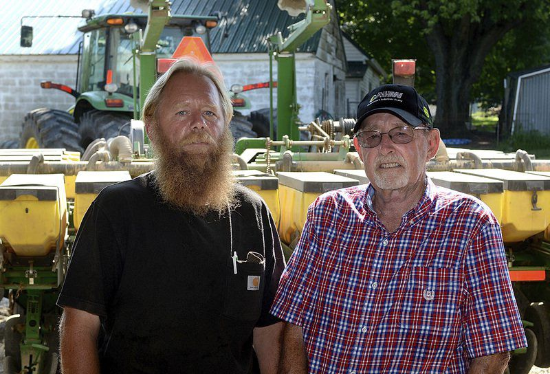 Jack and Mike Strain are father-and-son farmers