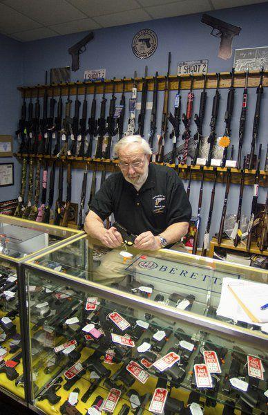 Gun store owner