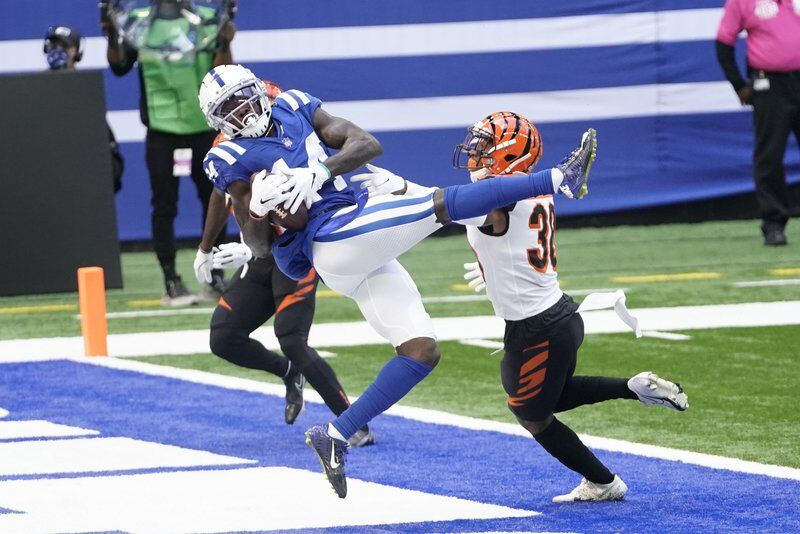 Rivers rallies Colts to 21-point comeback against Bengals