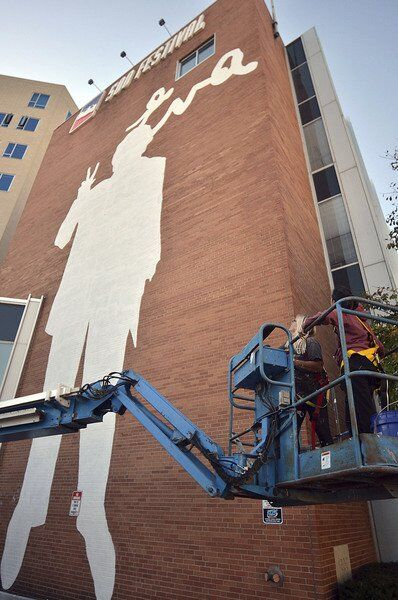 Eva Kor mural in downtown Indianapolis honors forgiveness pioneer, Holocaust survivor