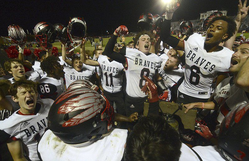 Braves beat Patriots to stay unbeaten