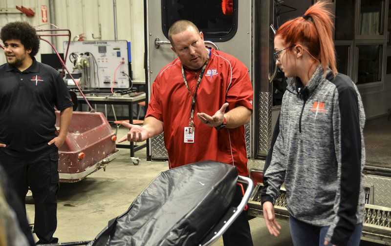 Vigo School Corp. purchases ambulance for use in training health career students