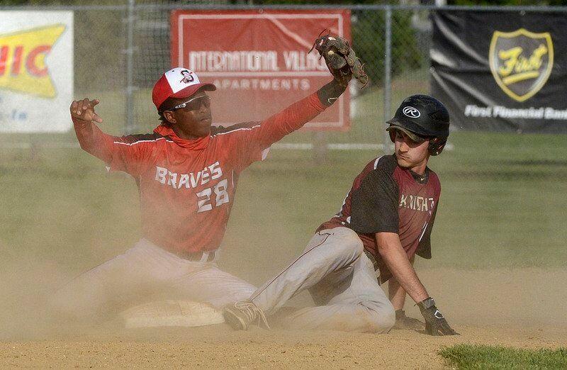 Norman's relief effort helps Braves overcome Knights