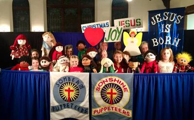Puppet teams to stage 16th annual Christmas musical Sunday at Paris church