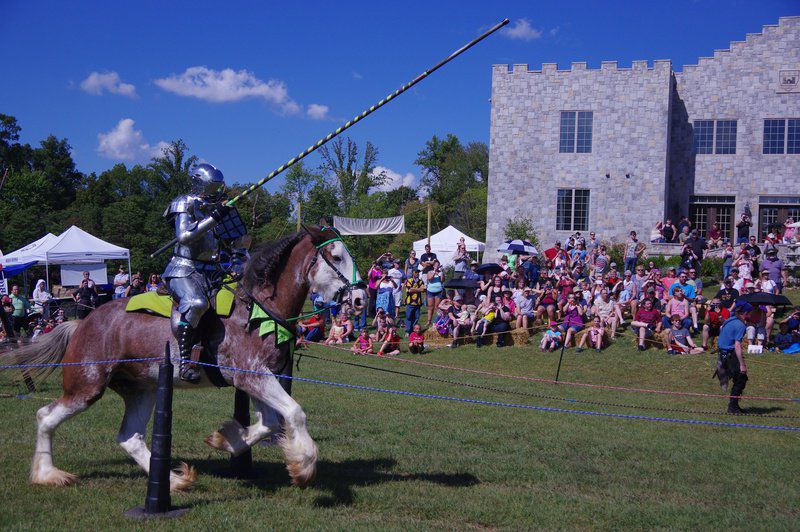 MARK BENNETT: Up for jousting, or maybe a medieval-rock band from Belarus?