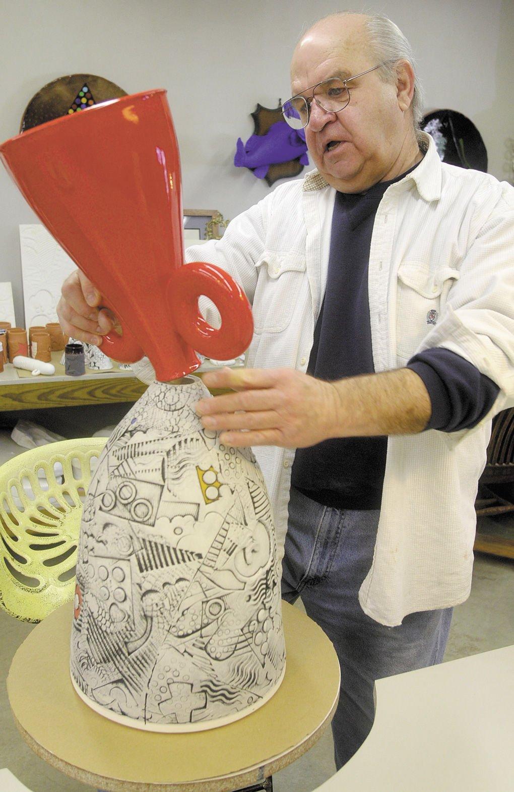 Dorsett Terre Haute >> Thought-provoking ceramic artist hopes to transport people ...