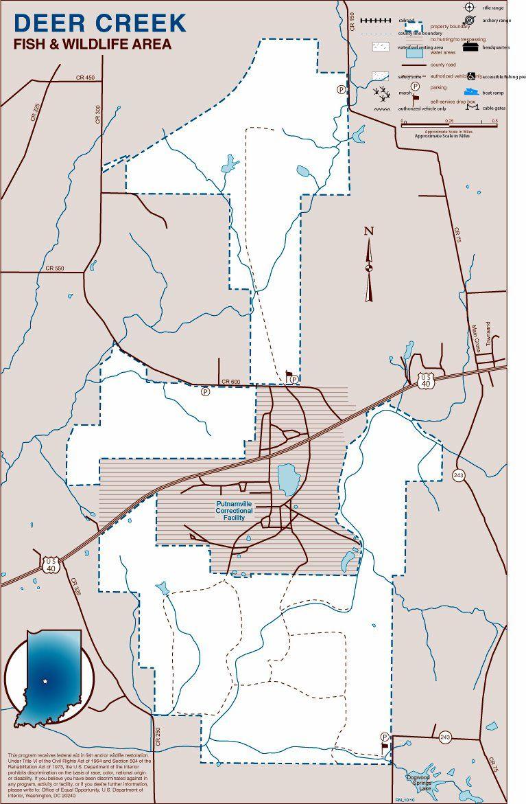 New deer creek fish and wildlife area in putnam county for Deer creek fishing