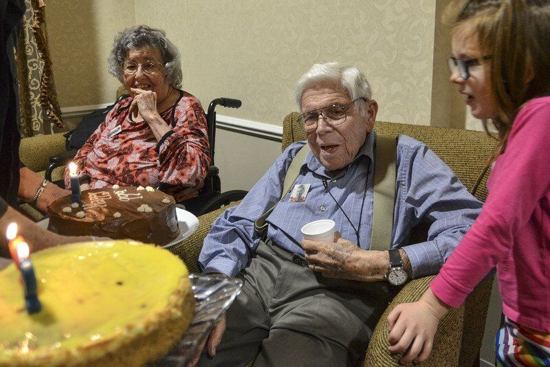 MARK BENNETT: 'We'll get through it,' Holocaust witness, WWII vet says of pandemic