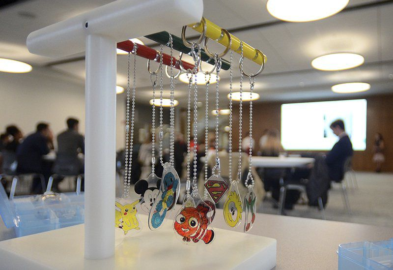 RHIT students design toys for children with disabilities
