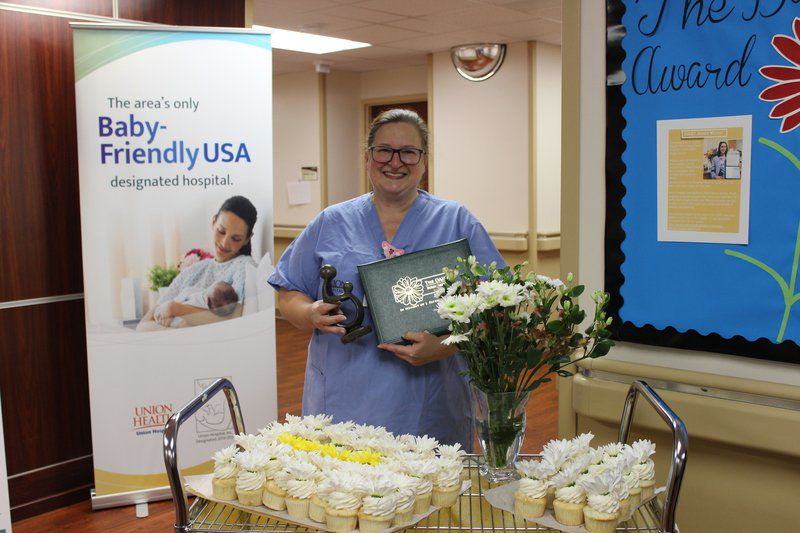 Nurse earns award for caring for others