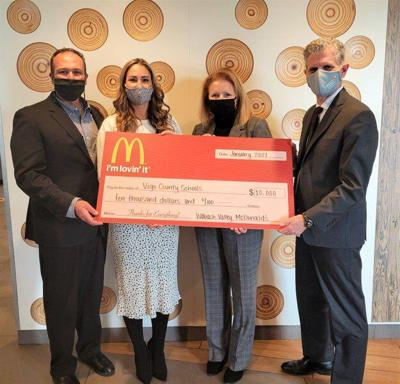 Local McDonald's owners donate $10K to VCSC