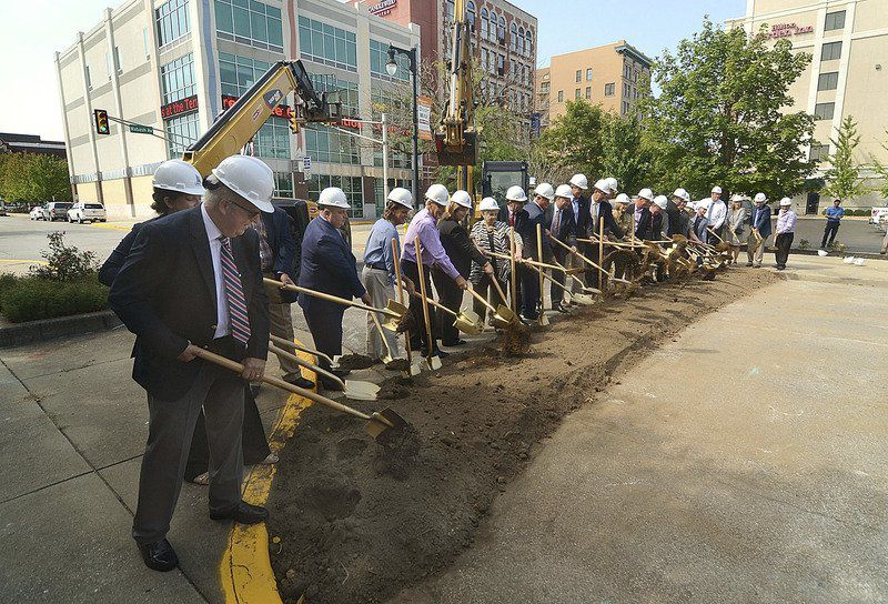 Ground broken for downtown Terre Haute convention center
