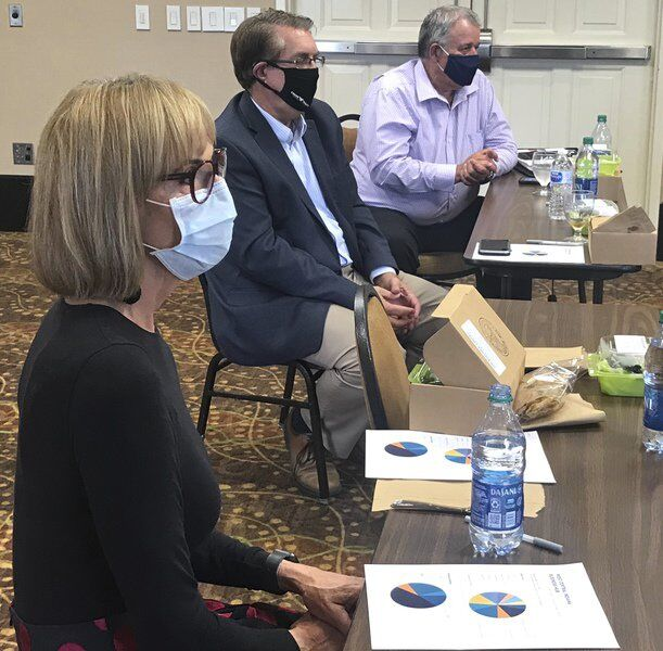 COVID business task force briefs lieutenant governor