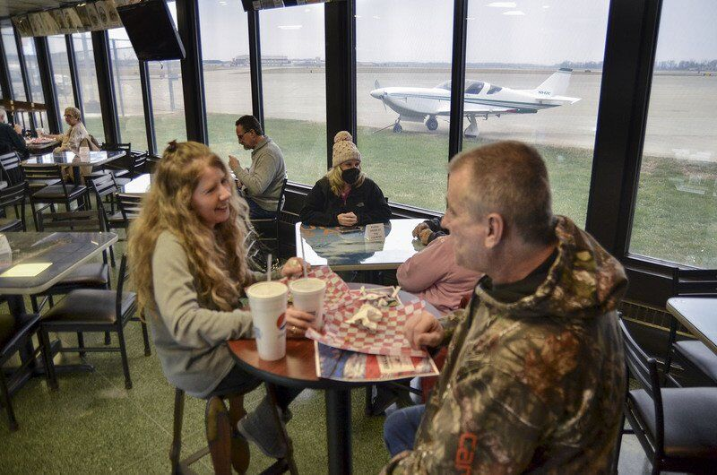 Corsair Cafe takes flight Terre Haute Regional Airport