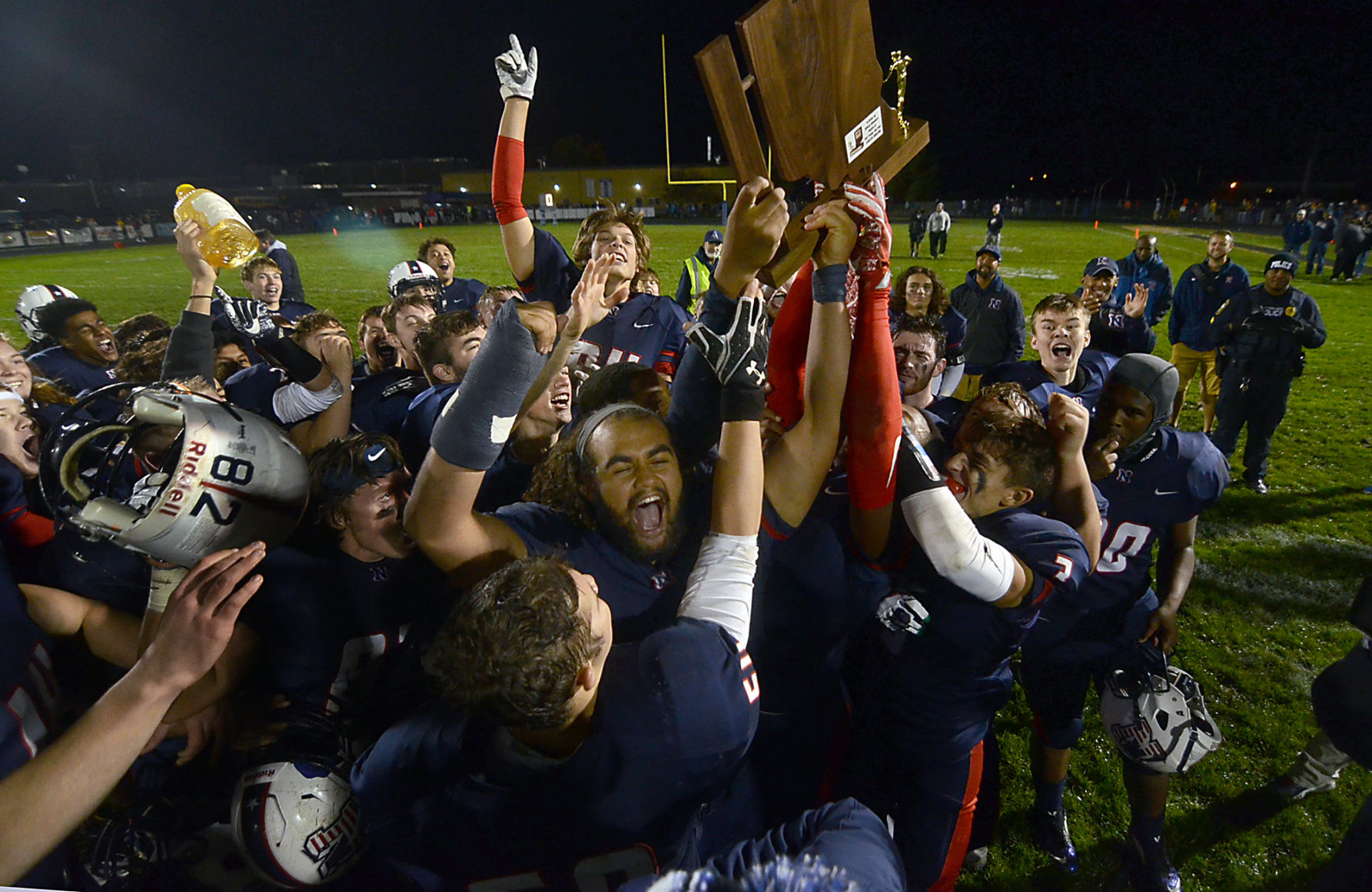 North tops South for football sectional title