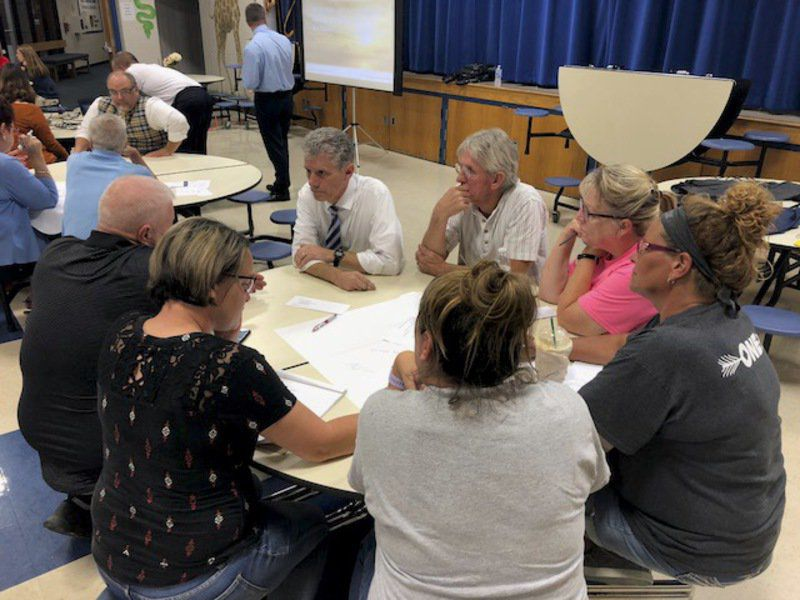 Voters attend first VCSC meeting on referendum 'looking for information'
