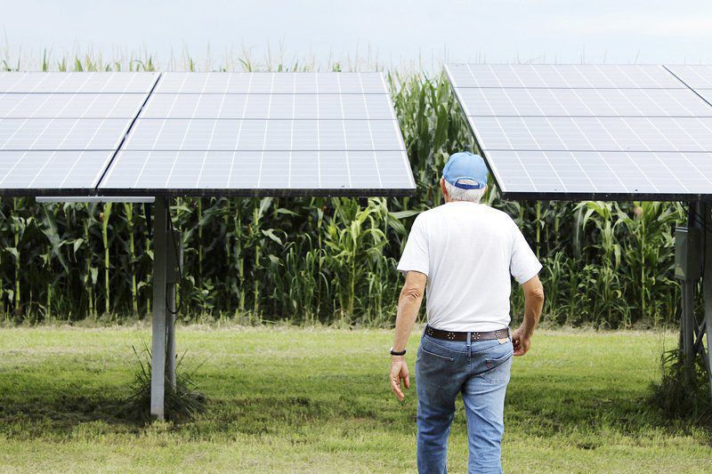 Hoosier inventor speaks up for solar