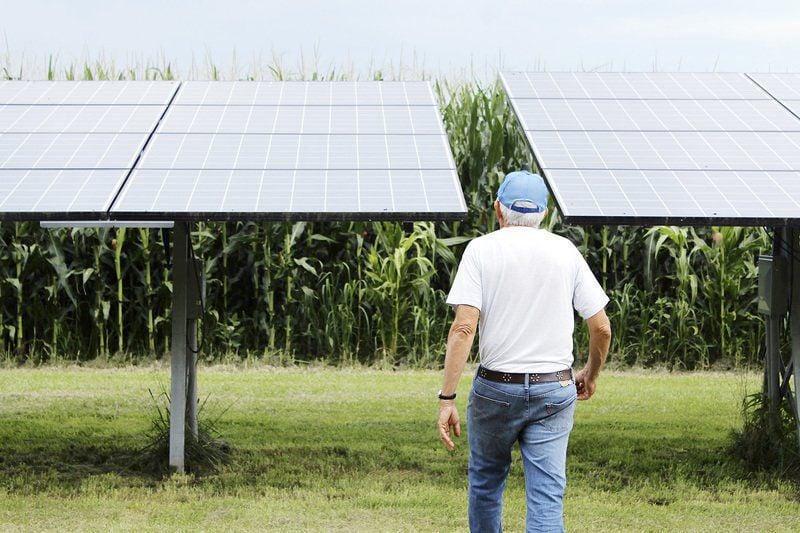 Hoosier inventor speaks up for solar