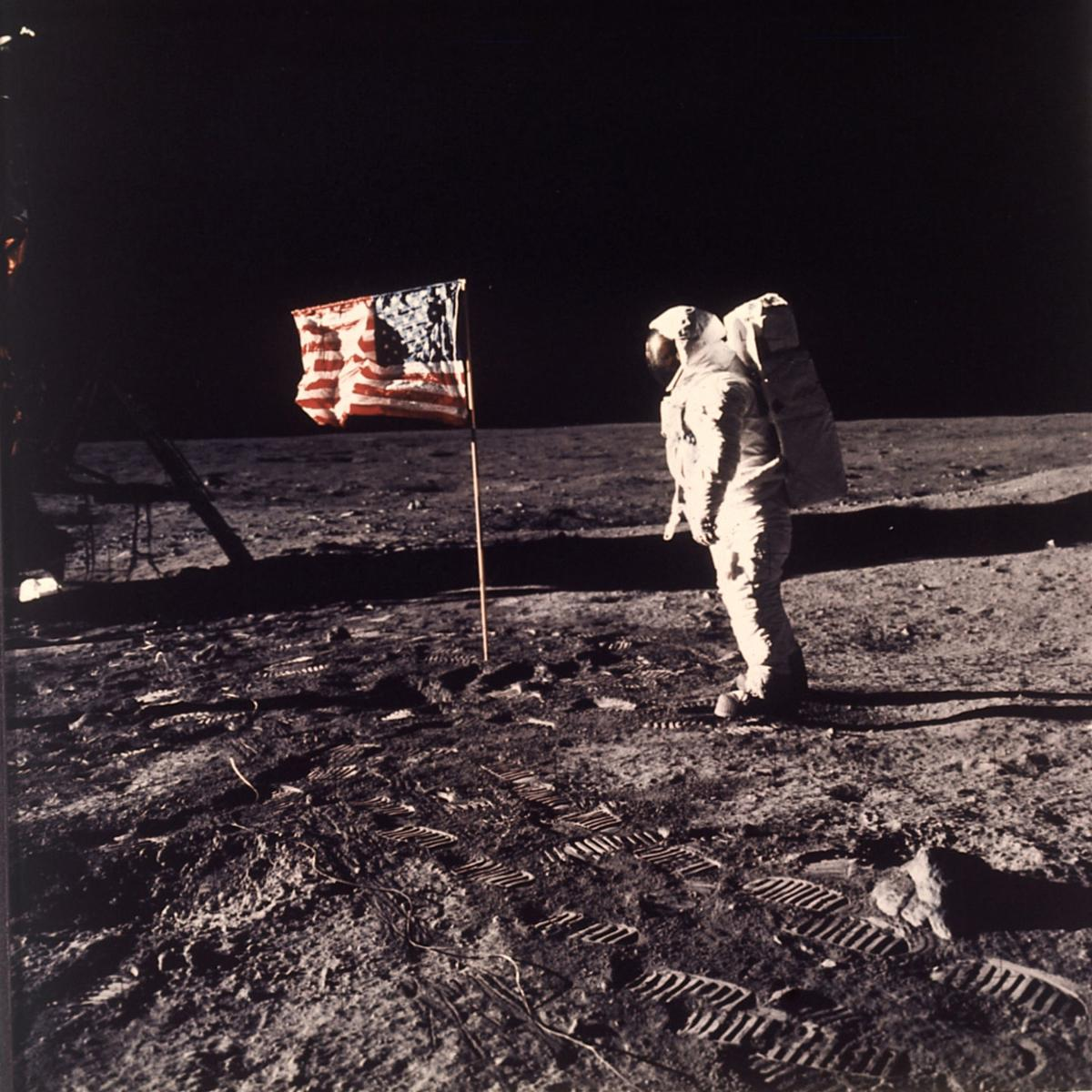 AP Poll Moon Landing