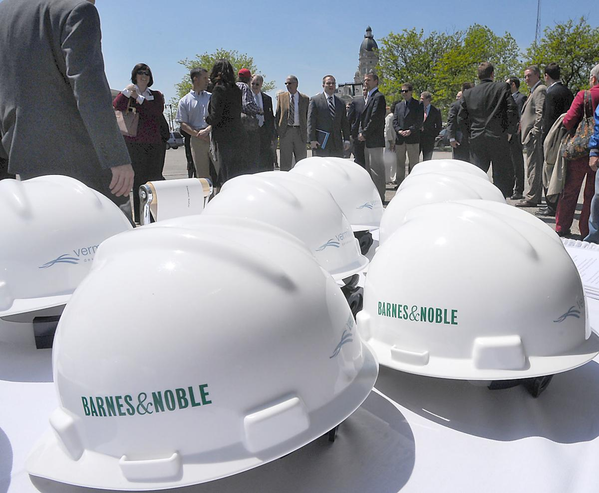 Indiana State breaks ground on new downtown Barnes & Noble bookstore ...