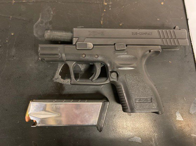ISP: Traffic stop leads to discovery of stolen handgun
