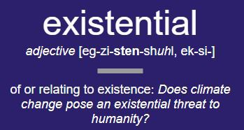 Dictionary.com chooses `existential' as word of the year