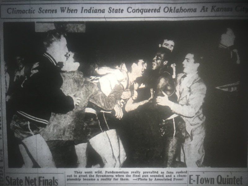 VIGO LEGENDS: The '50 Sycamores are one of the program's all-time best teams