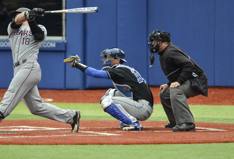 Wright is ISU\'s iron man behind the plate | Indiana State Sports ...