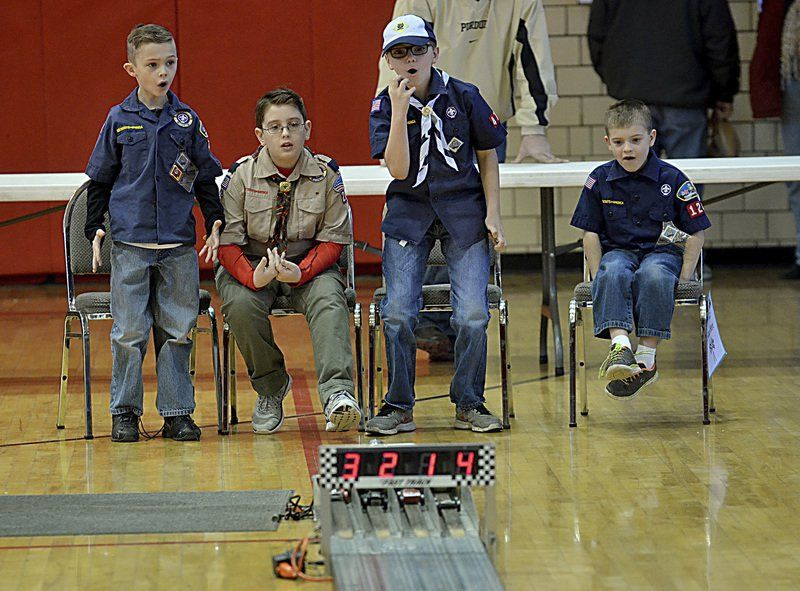 Markle Harrah Top Finishers In Cub Scouts Annual Pinewood Derby
