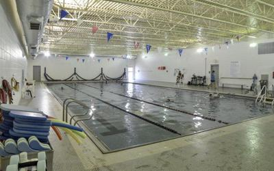 YMCA pool file shot