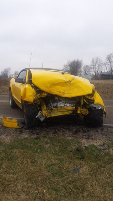Two injured in two-car crash on Indiana 246 at Clay City | News