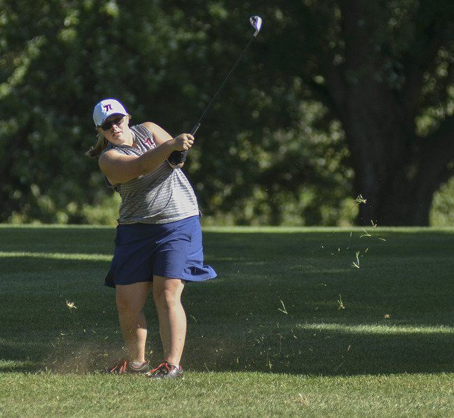 South defends county girls golf title