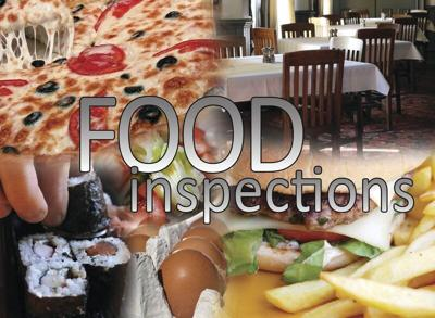 Food Inspections Aug. 30-Sept. 4, 2021