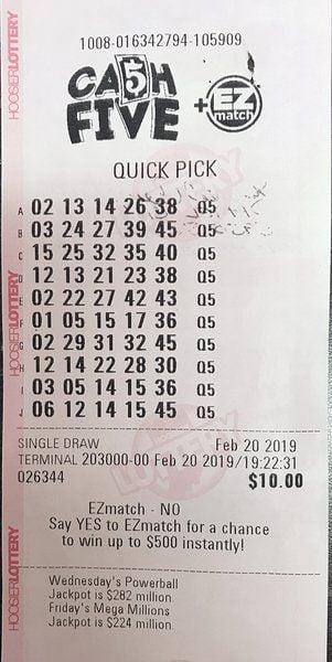 Terre Haute man wins $1.56M in Hoosier Lottery game