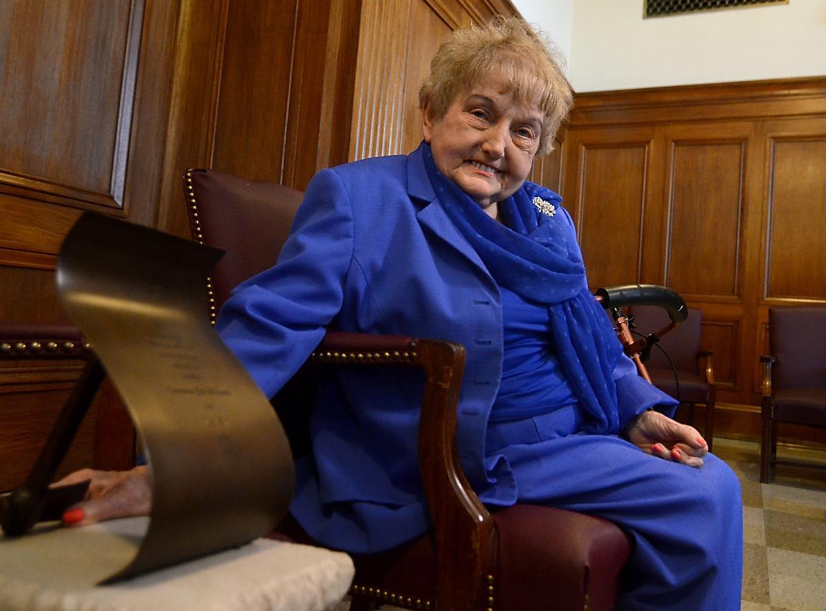 Holocaust survivor Eva Kor awarded Indiana's highest honor