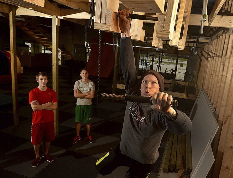 Ninjas in training: Former TV show participant models gym for warrior workouts