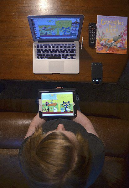 Staying in touch: South Vermillion School Corp. providing students with three days of eLearning per week, iPads