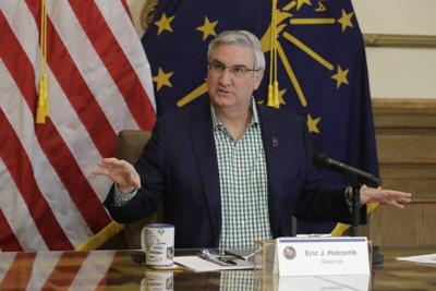 Indiana governor adds no new restrictions amid virus spread