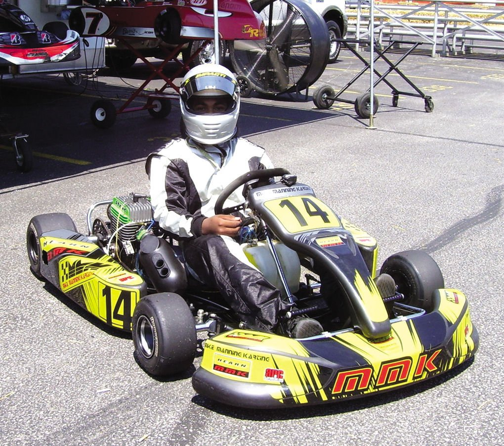 14-year-old kart racer has natural ability on the track | Lifestyles ...