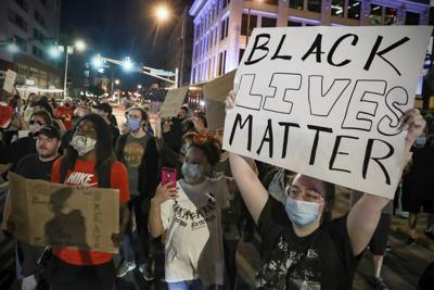 Minneapolis Police Death Protest Indianapolis