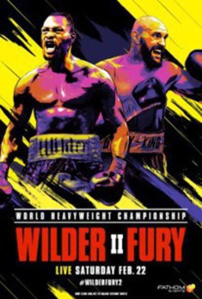 'Wilder vs. Fury II' to play in Terre Haute theater