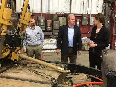 U.S. Rep. Bucshon visits Joink in Terre Haute