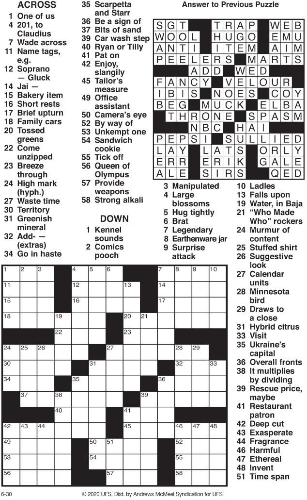 crossword 063020.pdf