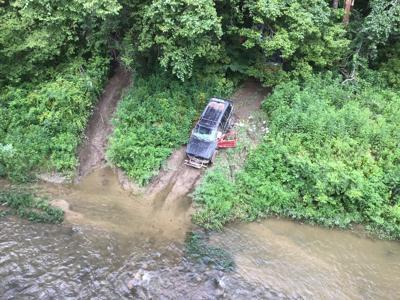 Truck at Coal Creek
