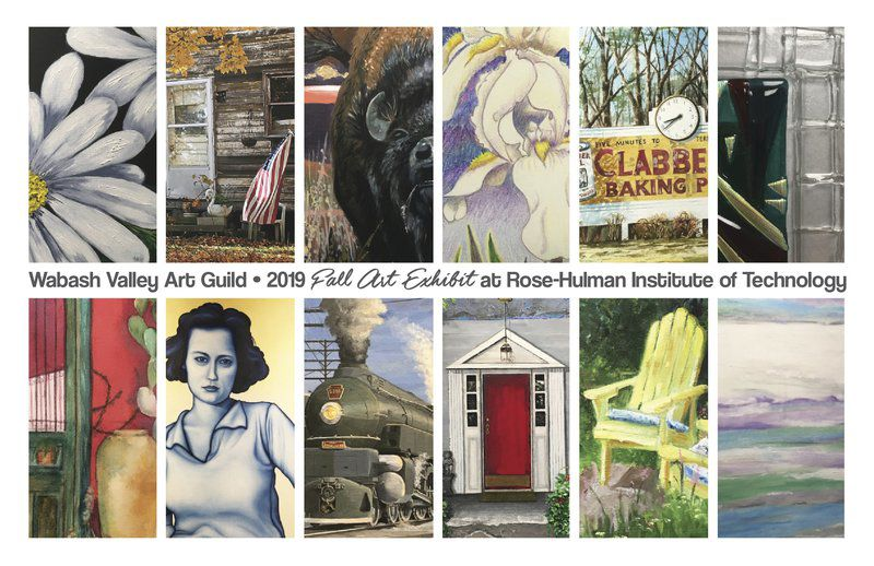 Various media by 14 artists featured at Rose-Hulman
