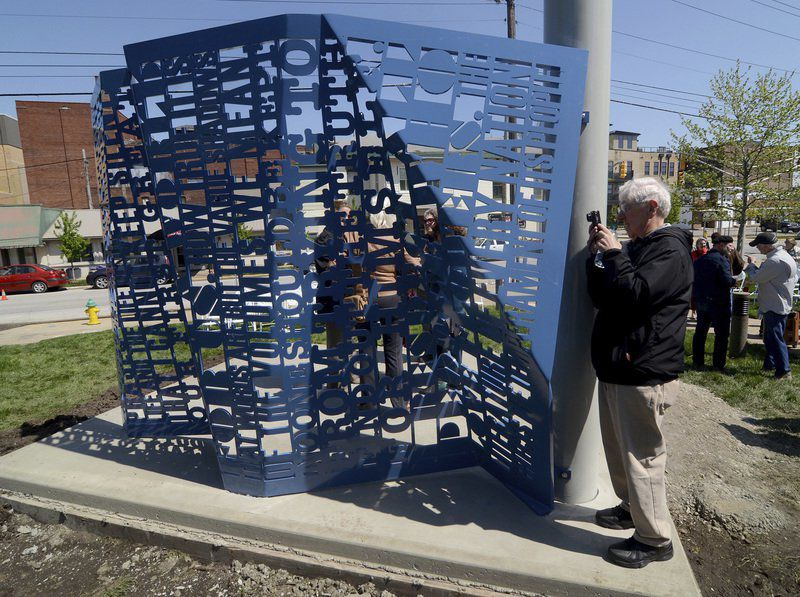 Like Dreiser, sculpture casts light and sparks conversation