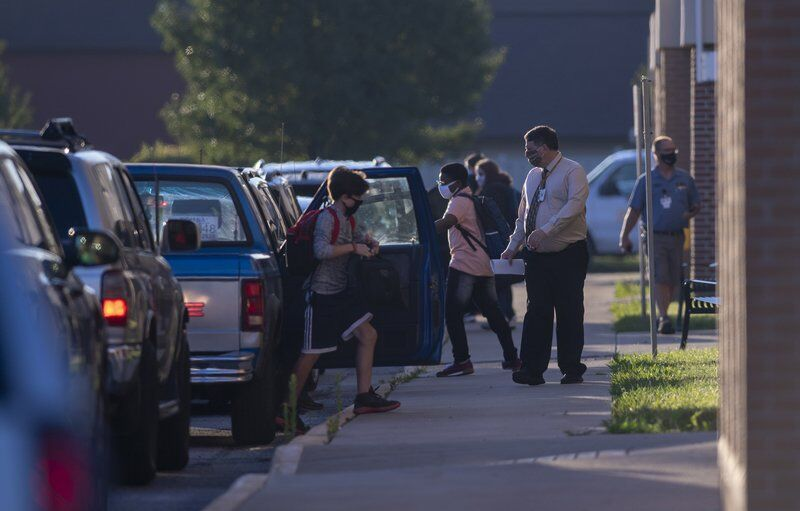 Indiana students begin in-person returns to schools