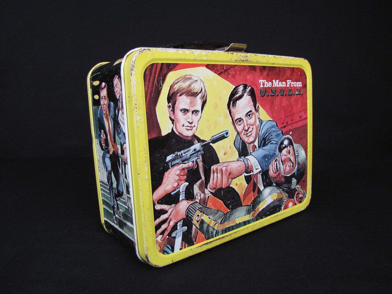 MARK BENNETT: The lunch boxes we carried — a reflection of American pop culture
