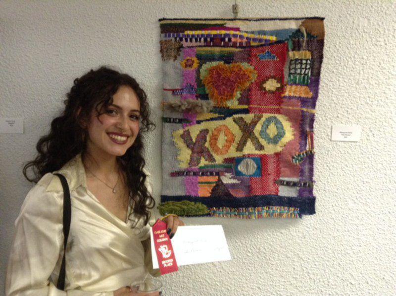 Winners of Fiber Show at Gaslight Art Colony
