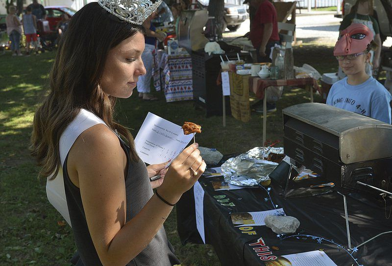 Crazy busy & fun: Lucy Harbaugh talks about life as the Vigo County Fair queen